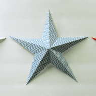 Tutorial Tuesday: 5 Point Paper Star