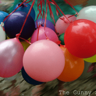 Gunny Sack Youngsters: {Summer Camp} Balloon Day