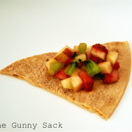 Mid – Week Munchies: Fruit Salsa & Cinnamon Chips