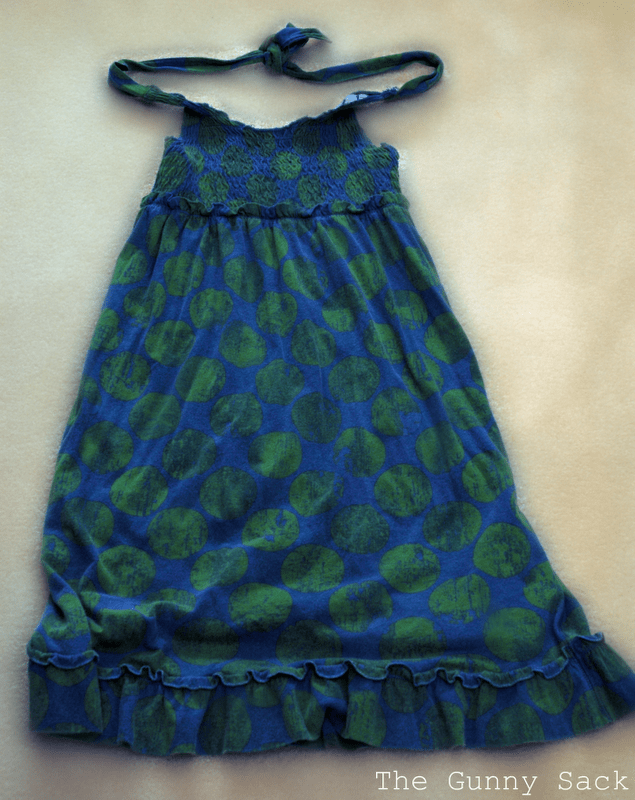My Daughter Wore This Dress Last Summer That She Has Now Outgrown Loved The Material So I Made A Skirt From