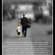 Daddy's Footsteps Poem