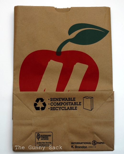 brown bag grocery sack