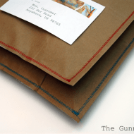 How To Make Brown Bag Envelopes