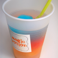 """Magic Potion"" Rainbow Drink Tutorial"