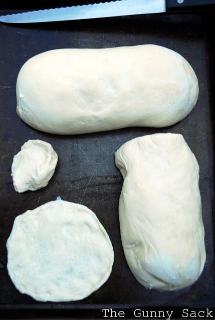 bread dough pizza crust