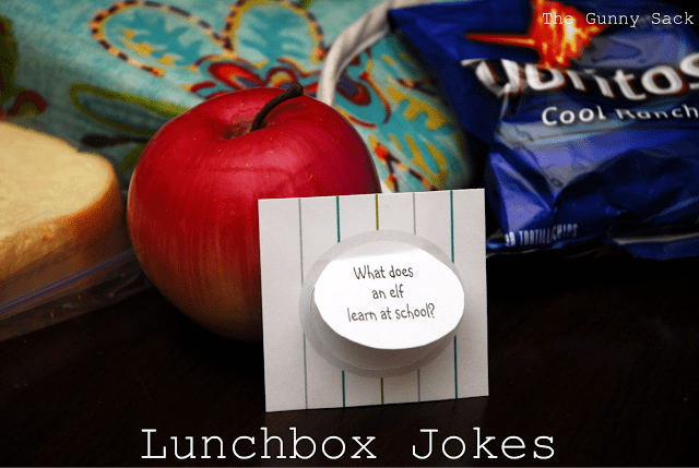 lunchbox jokes with homemade lunch