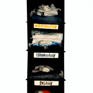 Weekly Outfit Organizer Clothing Rack