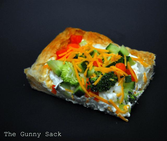 slice of veggie pizza