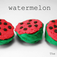 Mid – Week Munchies: Watermelon Cake Balls {National Watermelon Day}