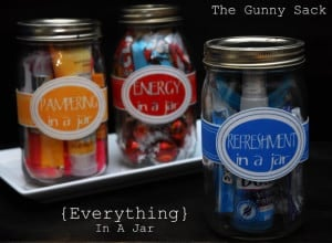 Everything In A Jar Mason Jar Gift