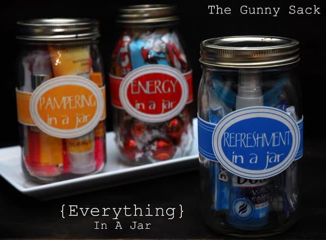 Everything In A Jar Mason Jar Gifts