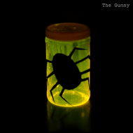 {Gunny Sack Youngsters} DIY Glow Lantern with Sling Knot Handle