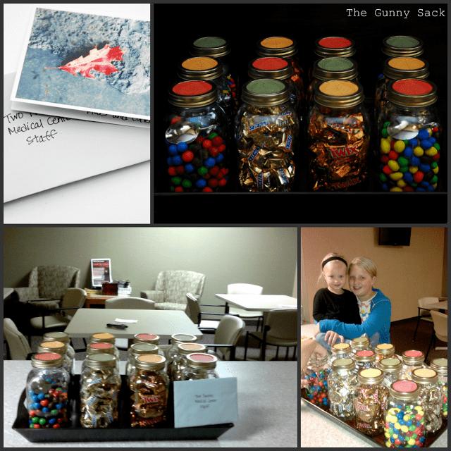 donating mason jars