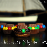 M&M Chocolate Pilgrim Hats