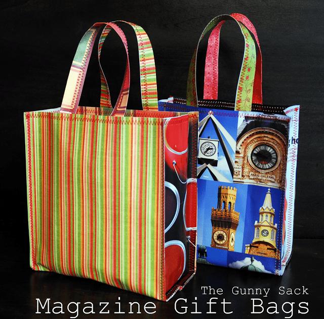 magazine gift bags