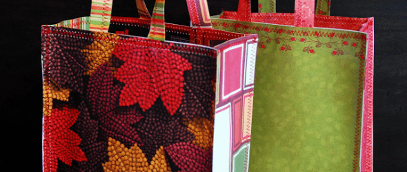 {Tutorial Tuesday} Magazine & Paper Gift Bags