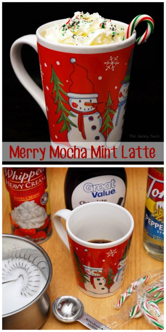 Merry Mocha Mint Latte Recipe