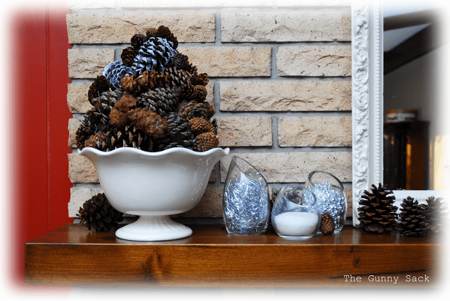 pinecone topiary