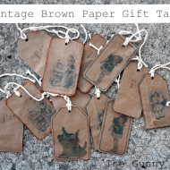 Brown Bag Gift Tags