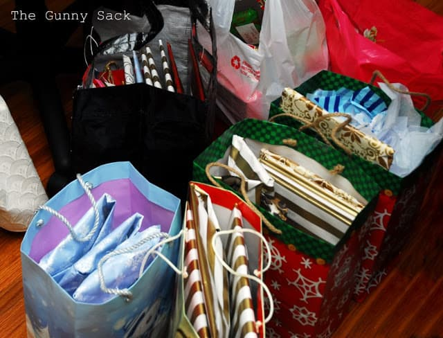gifts in bags