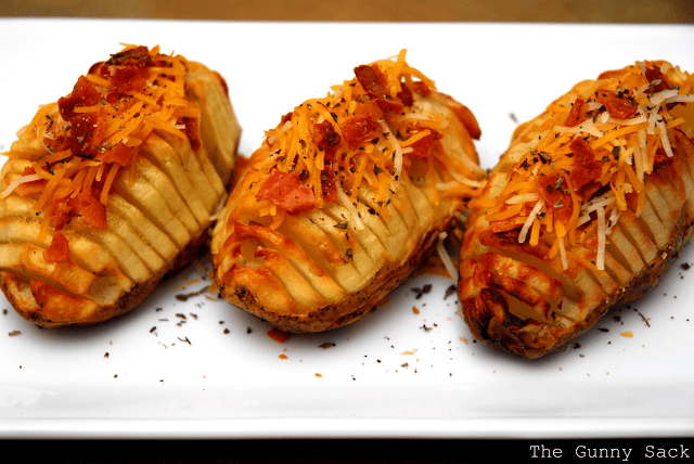 bacon and cheese on baked potato fans