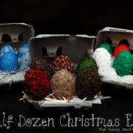 {Tutorial Tuesday} Half Dozen Christmas Eggs