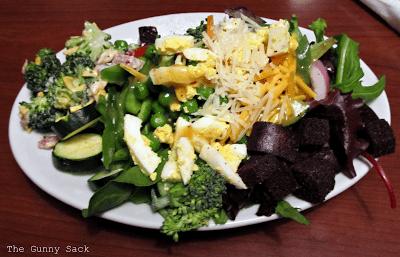 Salad at Ruby Tuesday