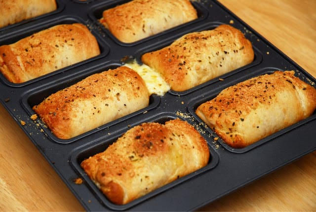 Baked Mini Loaves In Loaf Pan