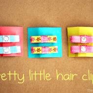 Pretty Little Hair Clips