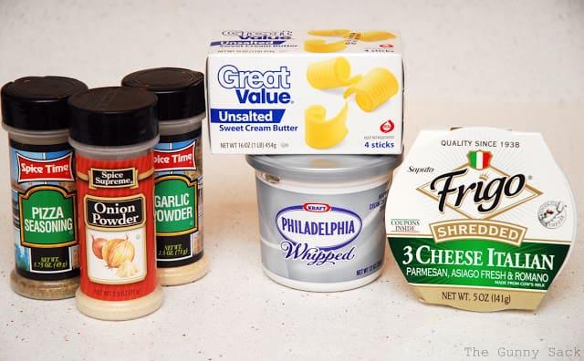 garlic cheese spread ingredients