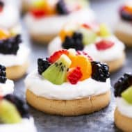 Mini Fruit Pizza Recipe with Video