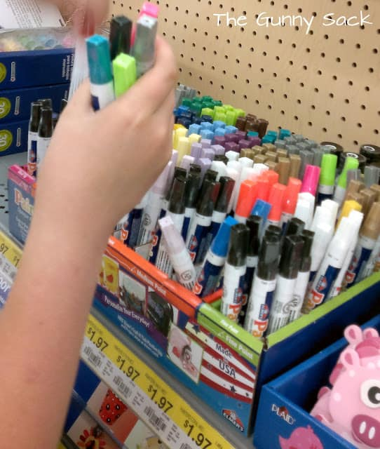 paint markers at store