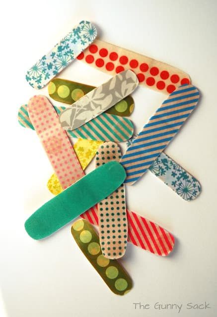 washi tape bandaids