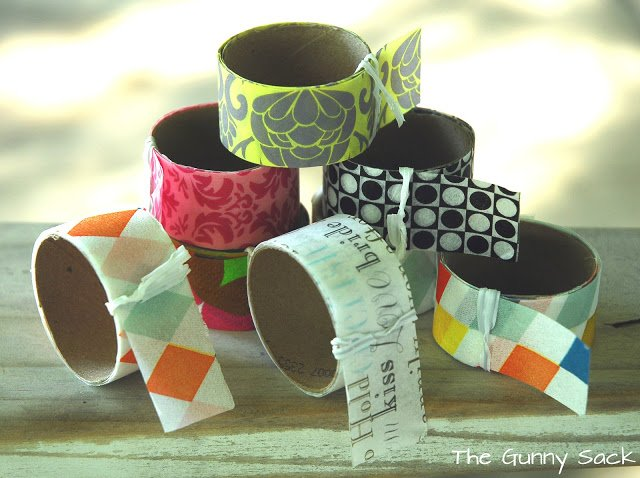 DIY Washi Tape rolls