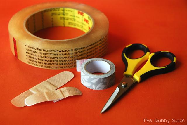 washi tape bandages supplies