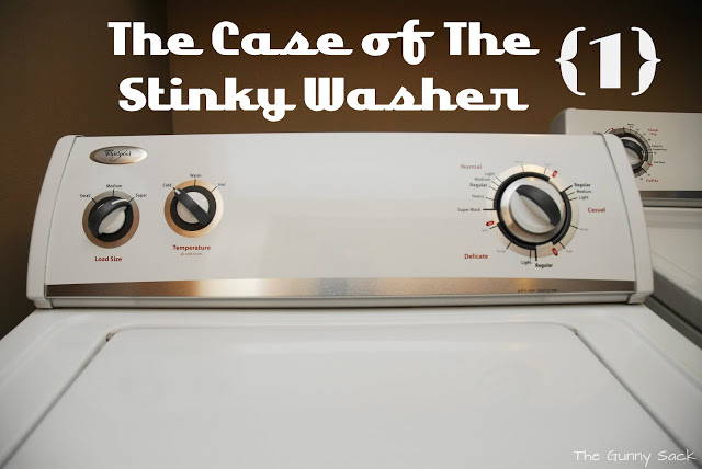 the case of the stinky washer part one