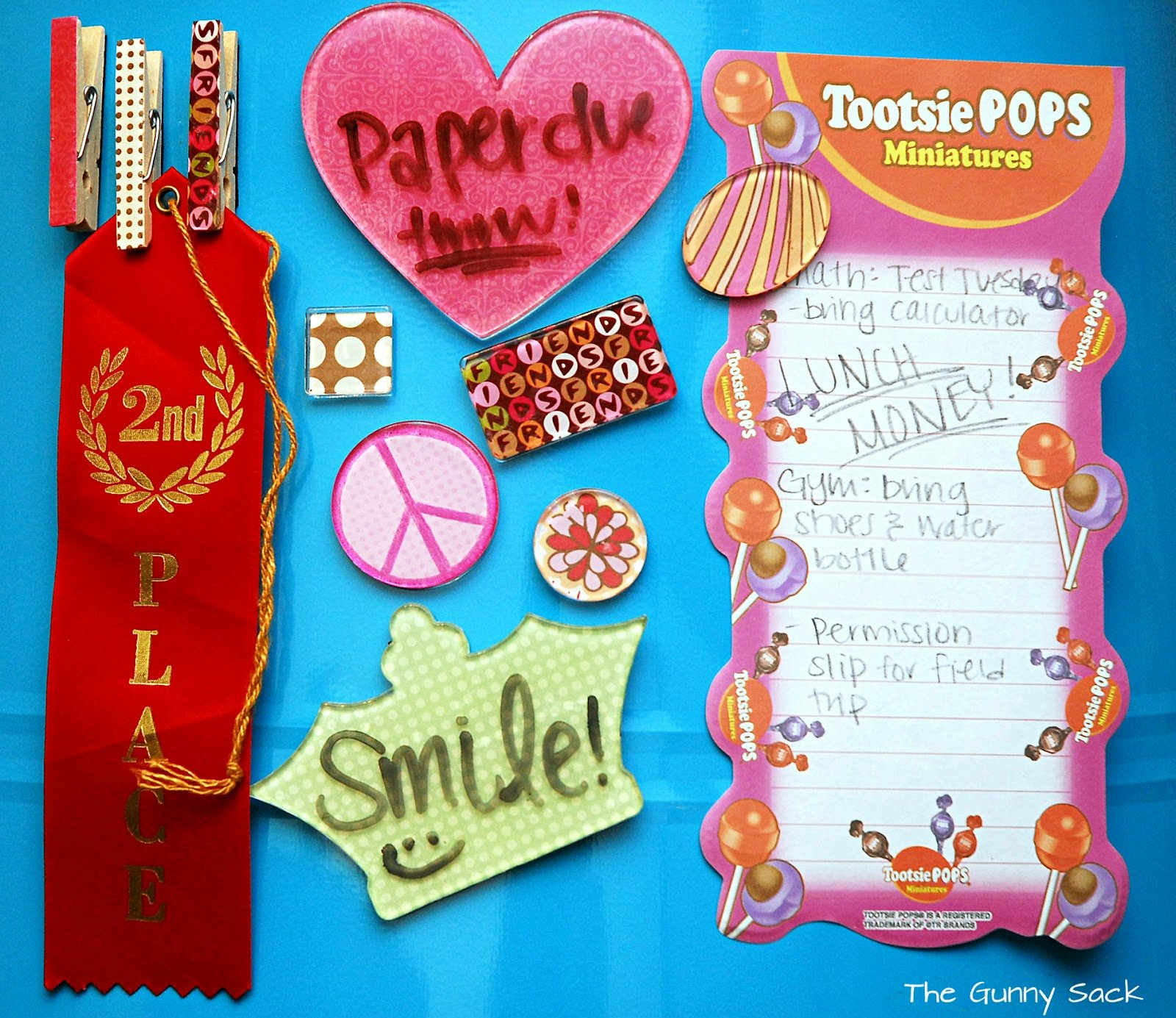 DIY Locker Accessories Backpack Charms The Gunny Sack - Cute diy school locker ideas