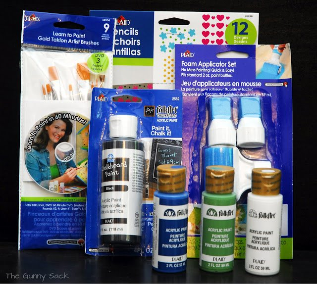 plaid crafts painting supplies