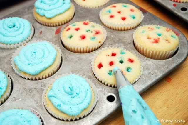 add blue jello