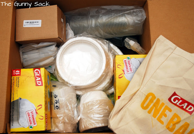 party supplies in box