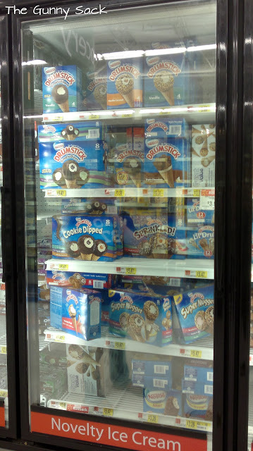 ice cream treats at store