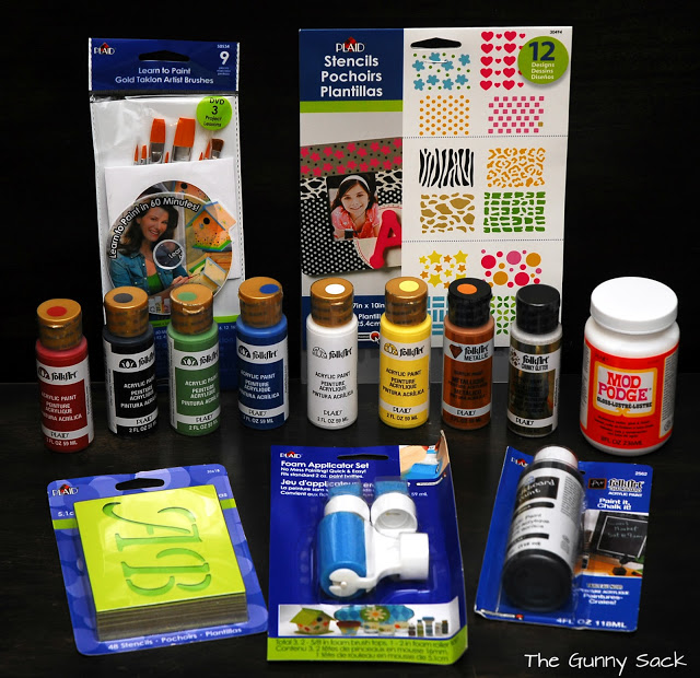 plaid crafts supplies