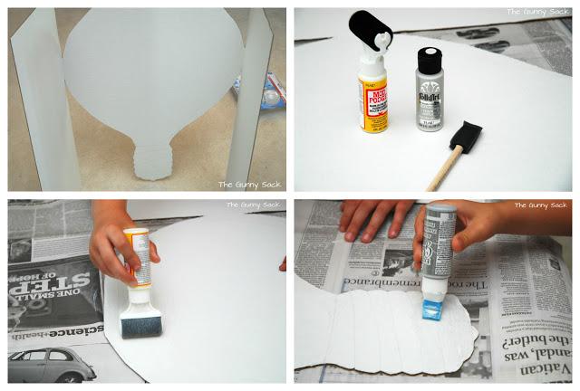 preparing white board