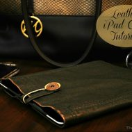 Leather iPad Case Tutorial