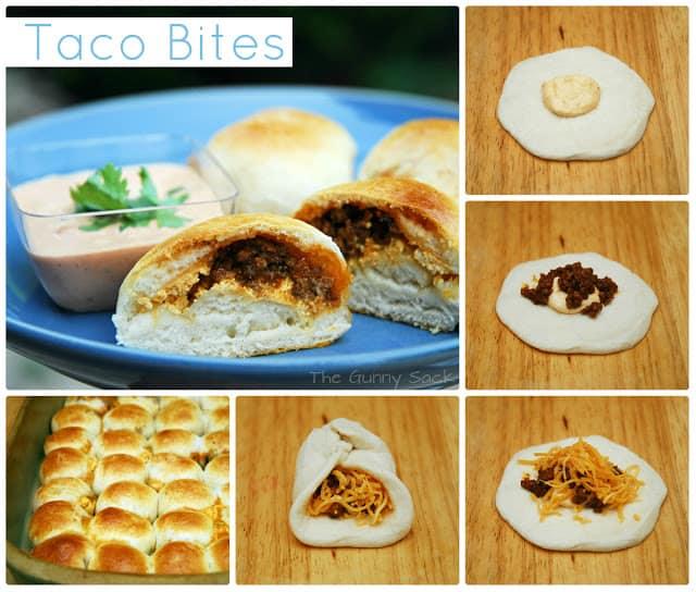 taco bites steps