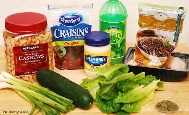 wild rice salad ingredients