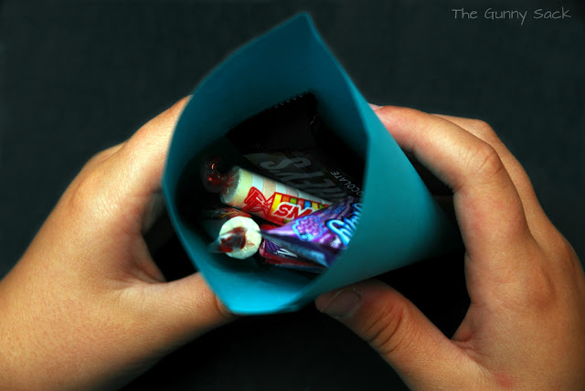 stuff pocket with treats