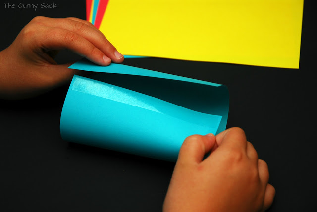 roll paper and tape