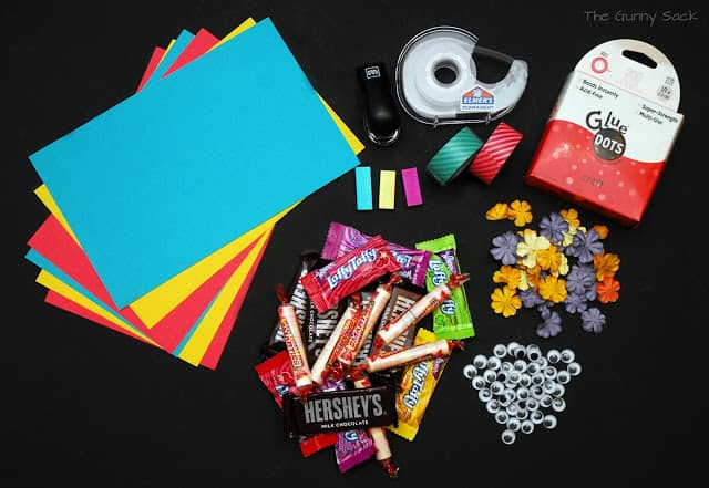 treat box supplies