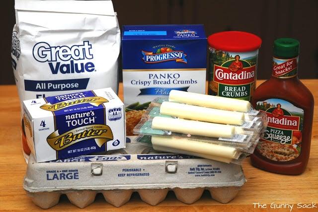 mozzarella cheese sticks ingredients